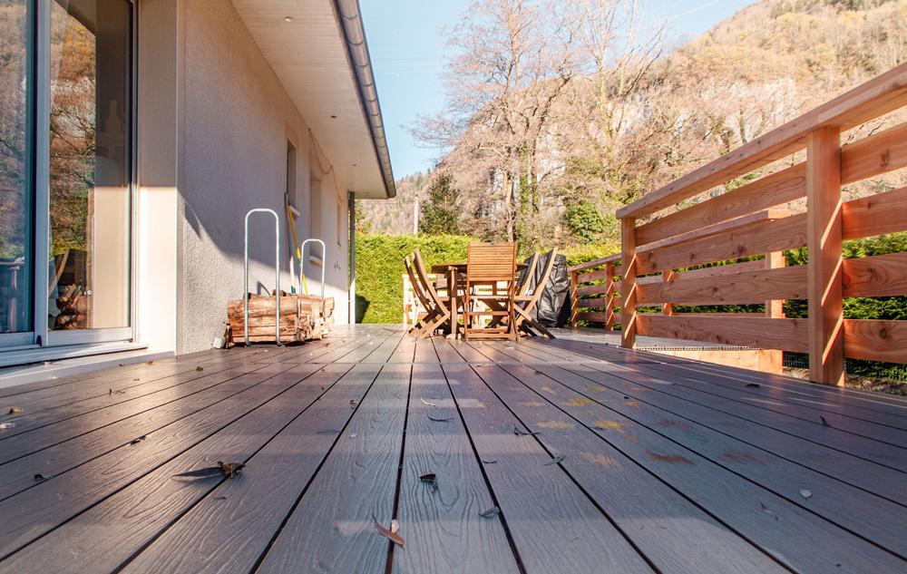 lames de terrasse bois composite
